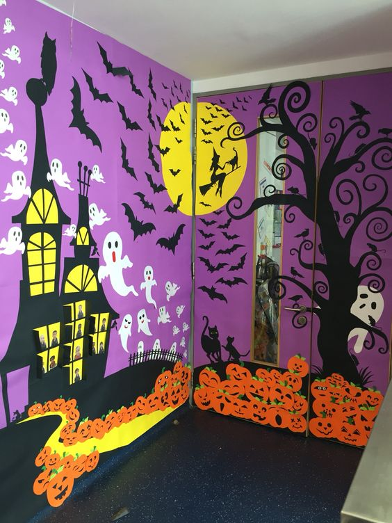 Halloween Classroom Door Decorations ~ Crafty halloween ideas for in the classroom bookwidgets