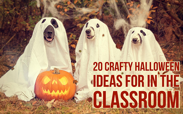 20 Crafty Halloween ideas for in the classroom , BookWidgets