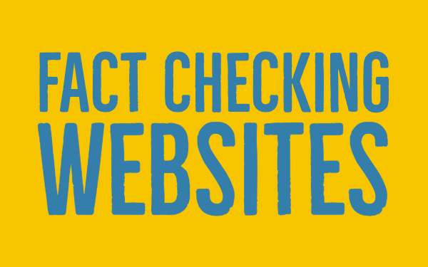 Fact checking websites - fake news teacher guide