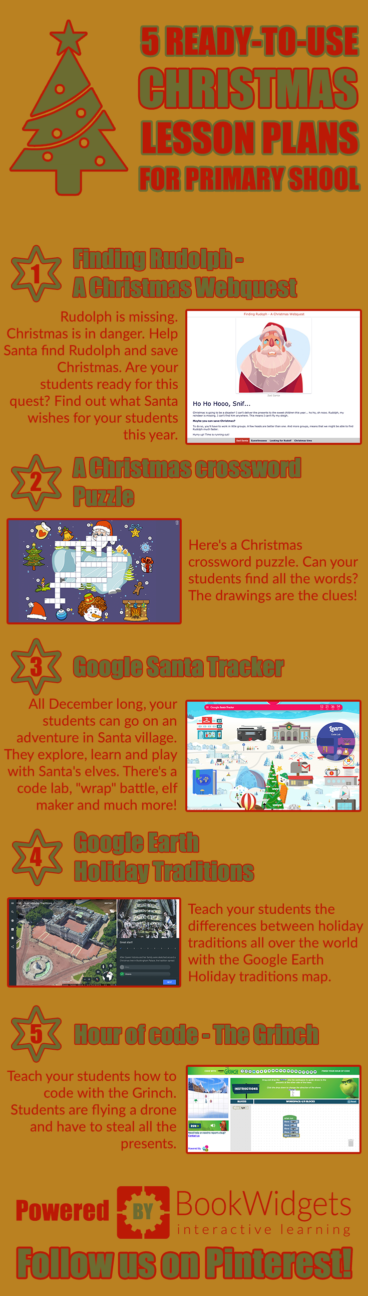 5 ready-to-use Christmas lesson plans for primary school students