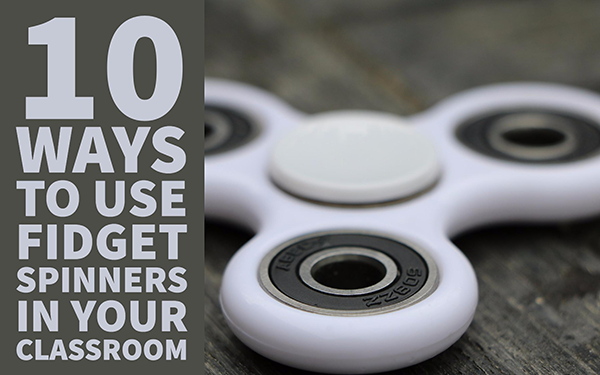 10 fun lesson ideas with fidget spinners - BookWidgets