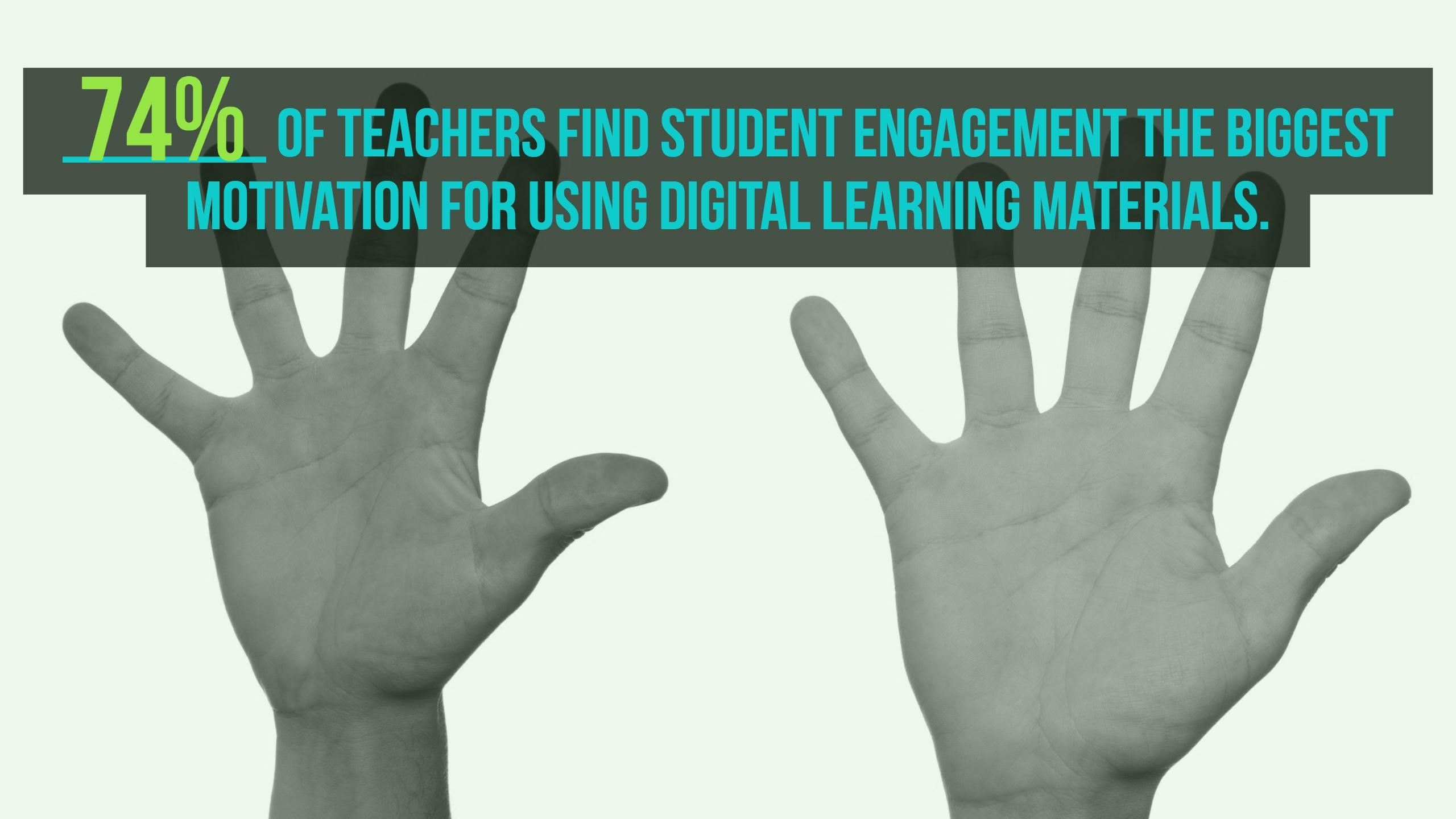 Digital learning materials