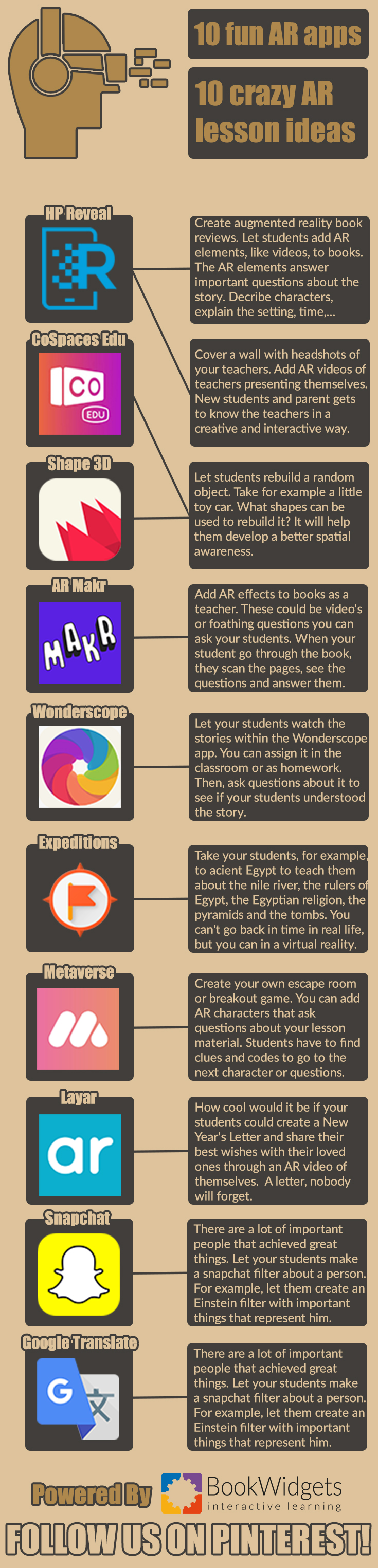 10 Fun augmented reality apps for teachers to use in the
