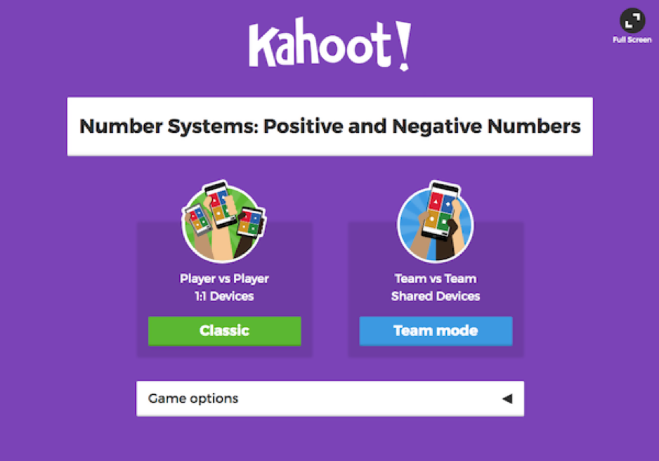 Gamification in education with Kahoot