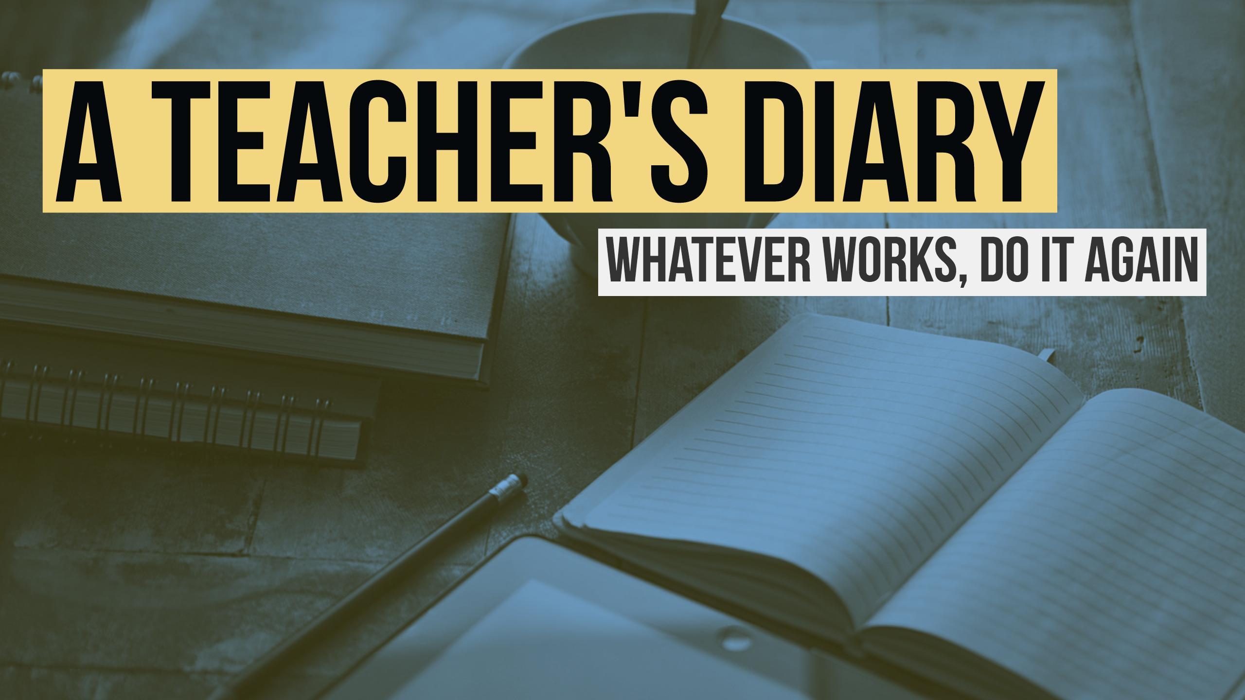 a teachers's diary