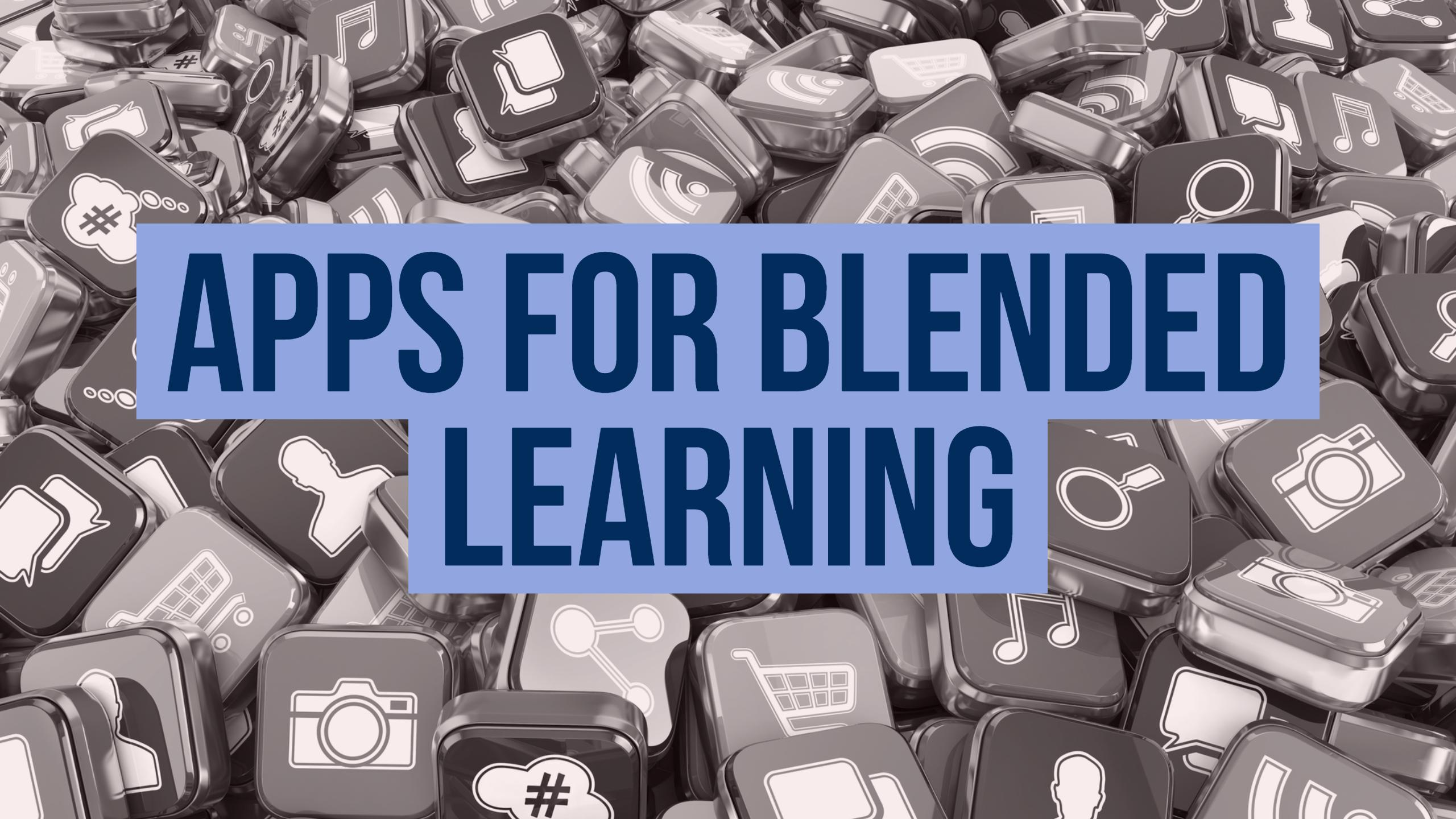 apps for blended learning