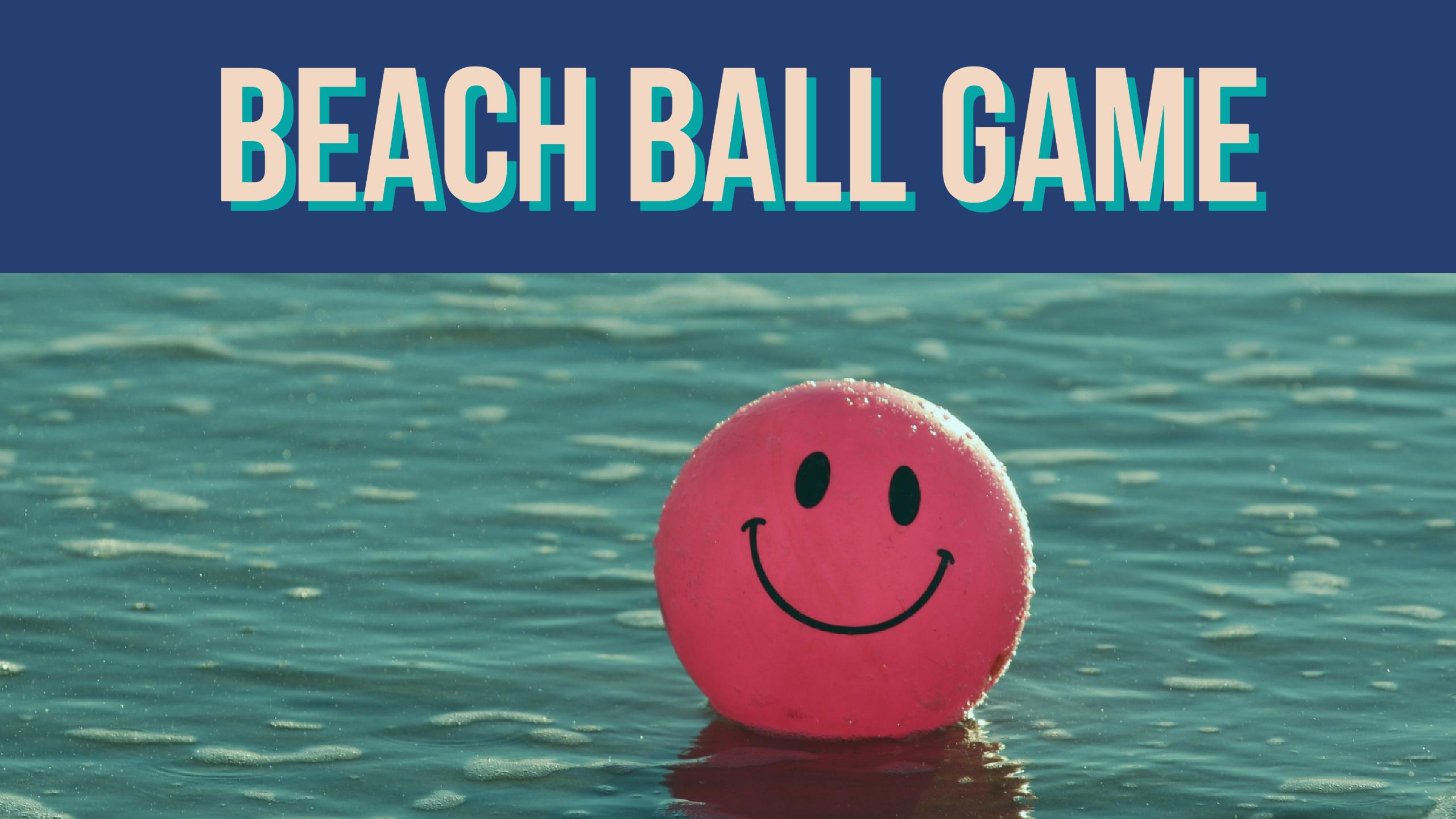 beach ball games - HD 2560×1440