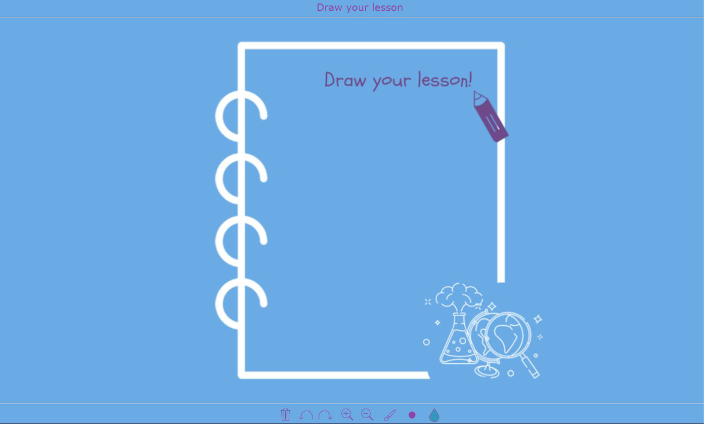 digital exit ticket - Draw your lesson