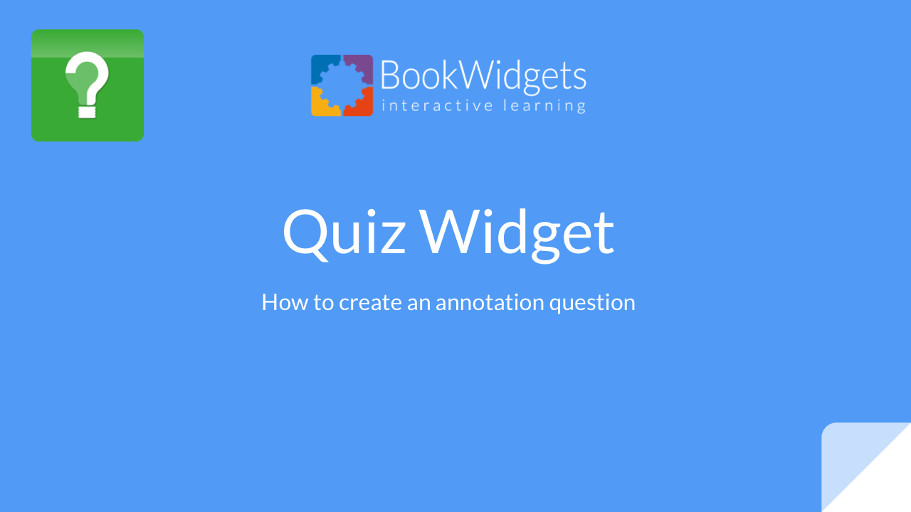 Bookwidgets Tutorials » Test & Review » Quiz » Picture Annotation Questions