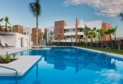 Frontline Golf Apartment In Marbella