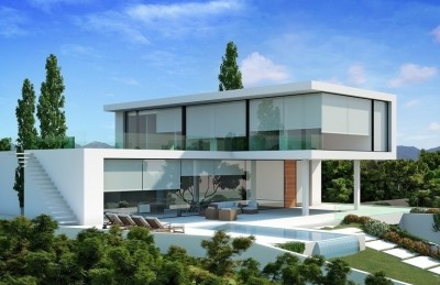 New Contemporary Villa in Nueva Andalucia
