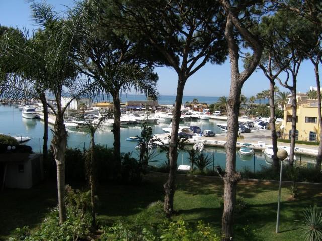 port and sea views