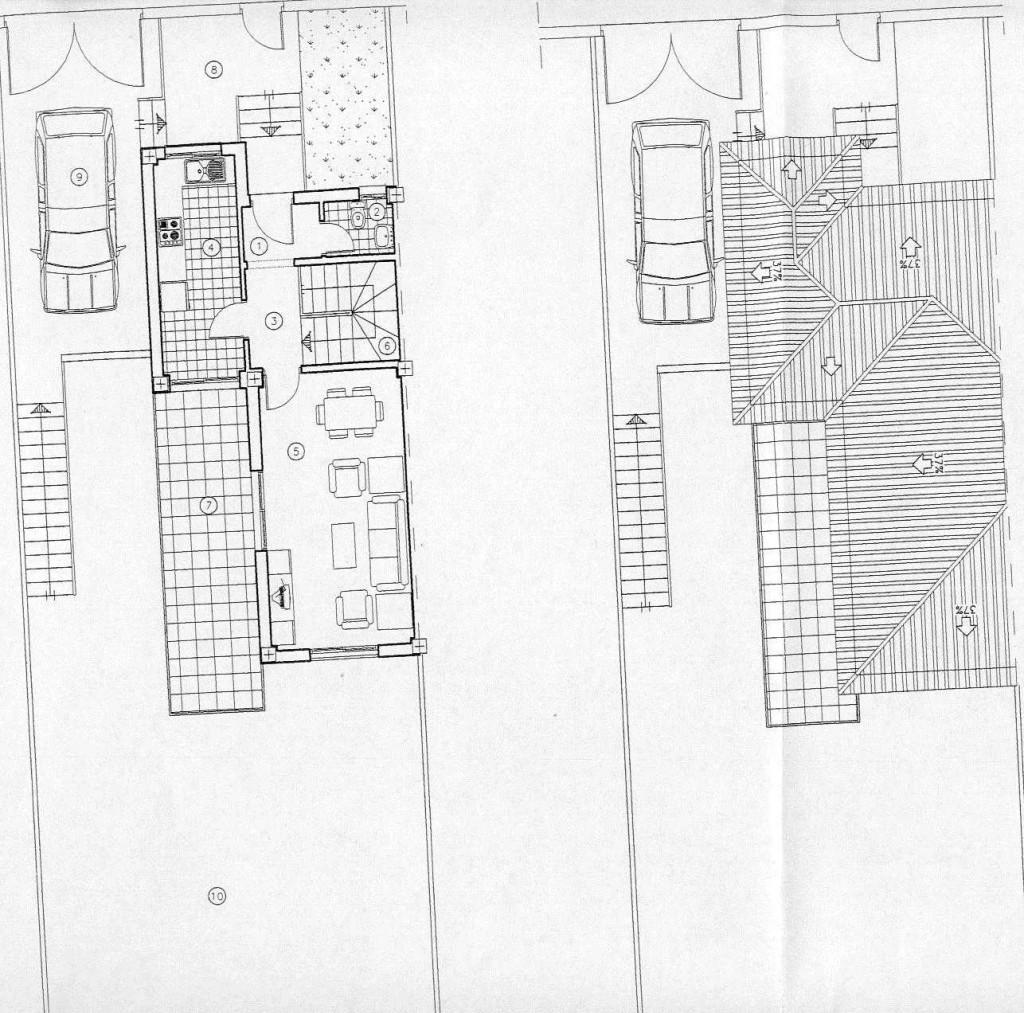 nº3 planta baja & cubierta