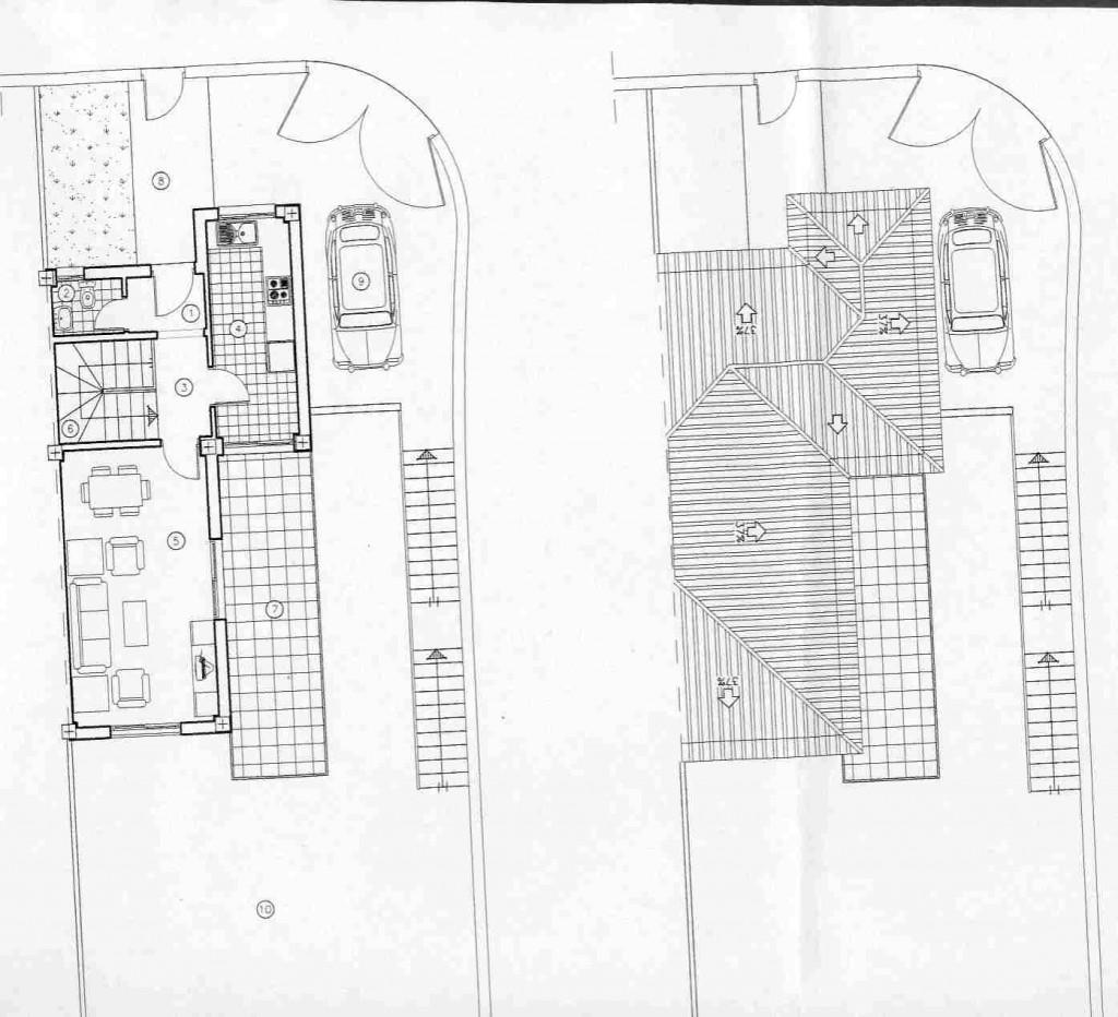 nº6 planta baja & cubierta