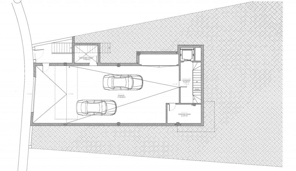 Garage basement