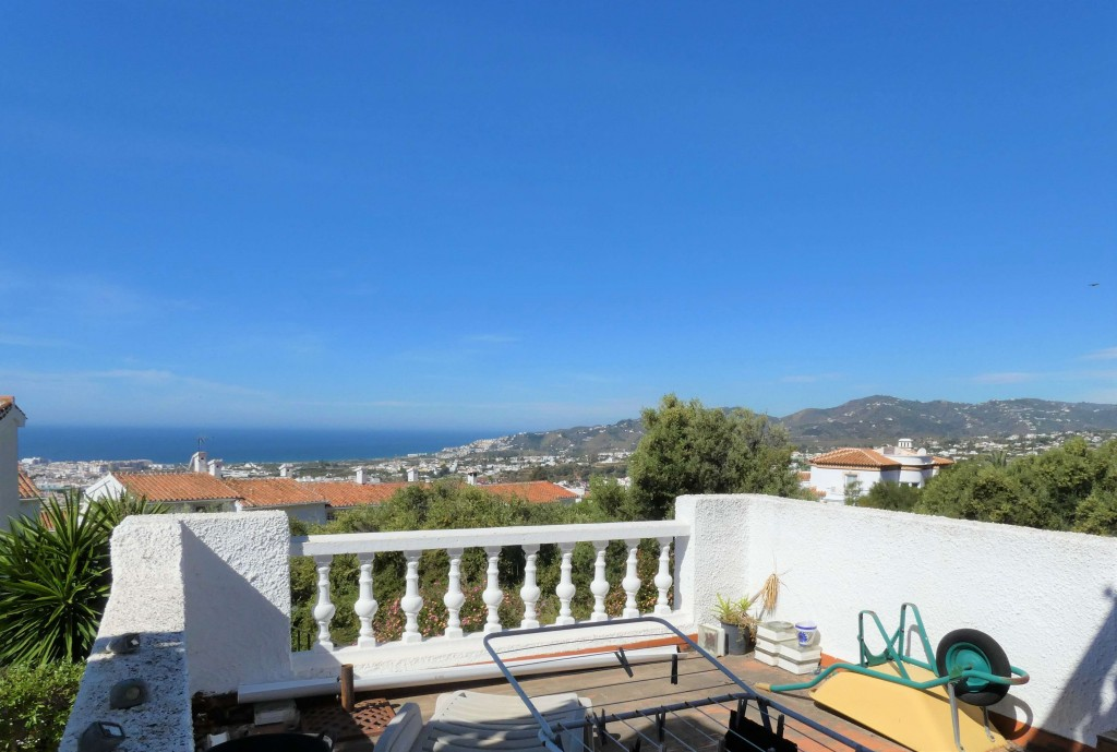 Lower terrace view