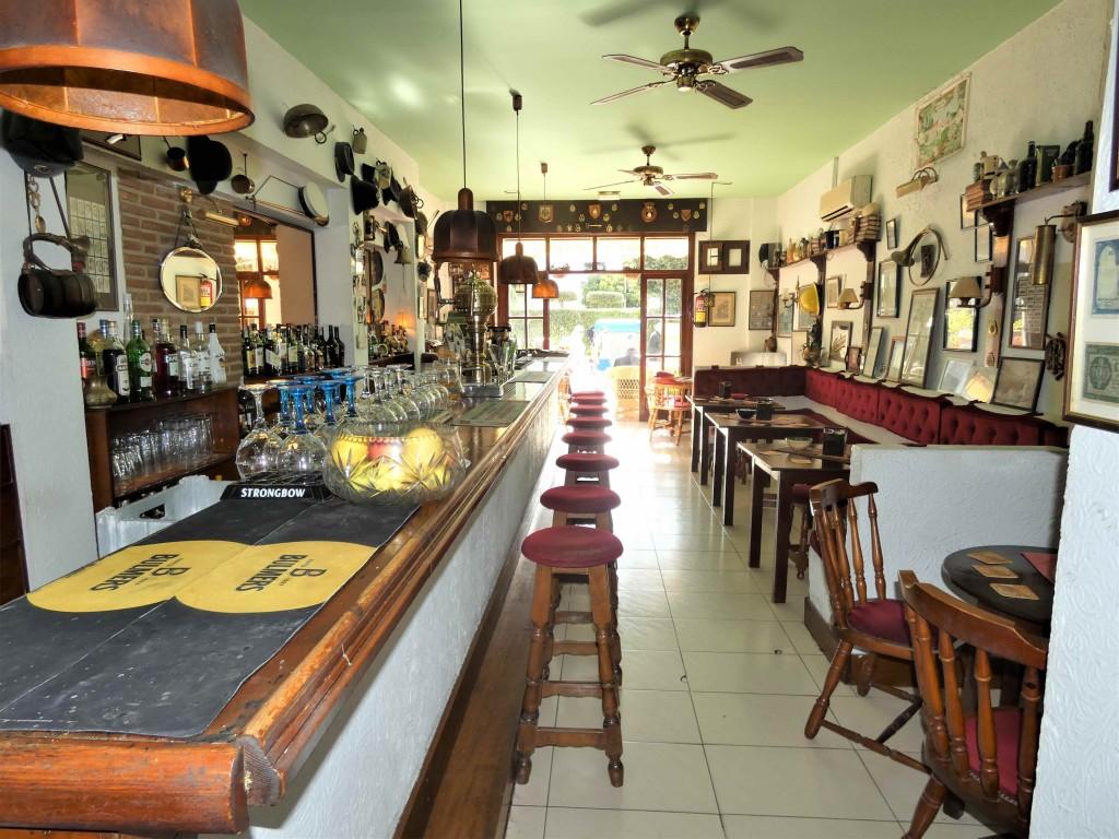 Bar and entrance
