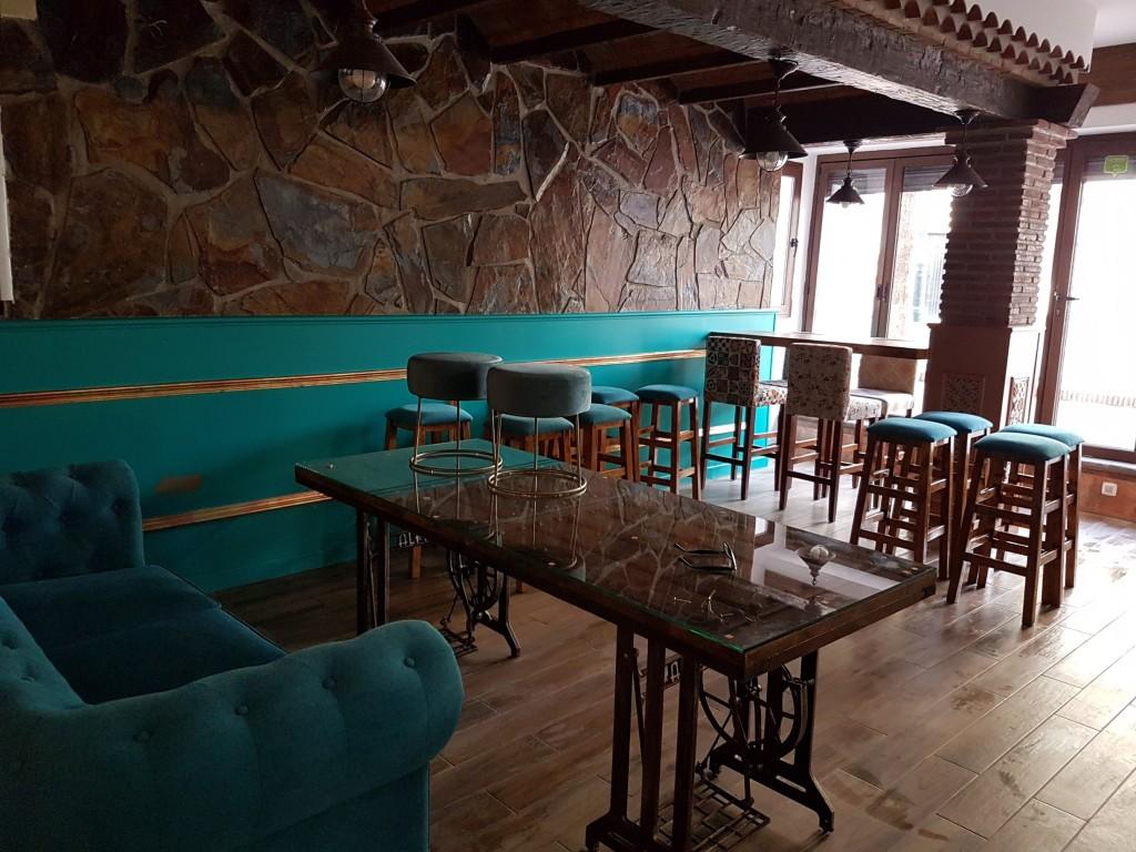 inside restaurant b