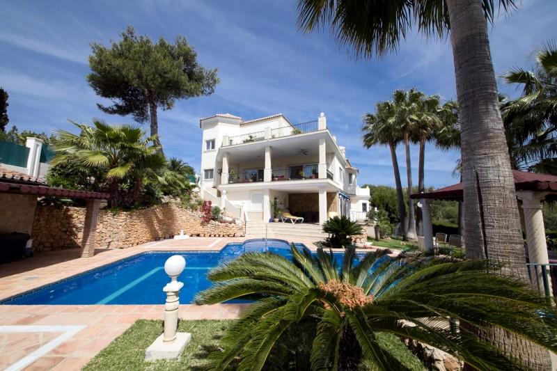 Pool Villa Villa Hacienda Las Chapas Marbella Costa del Sol