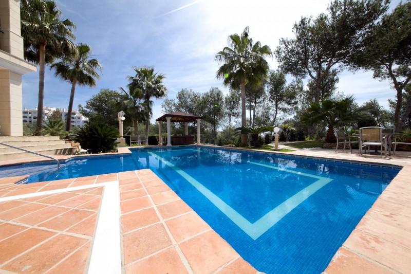 Pool Villa Hacienda Las Chapas Marbella Costa del Sol