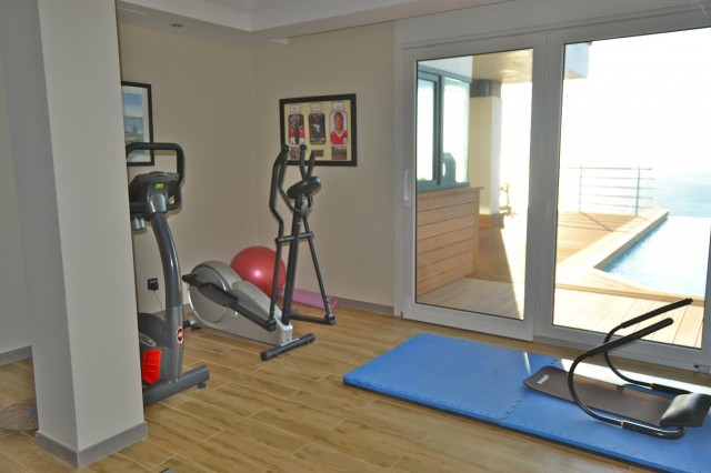 Gym detail  Luxury Villa Punta Paloma