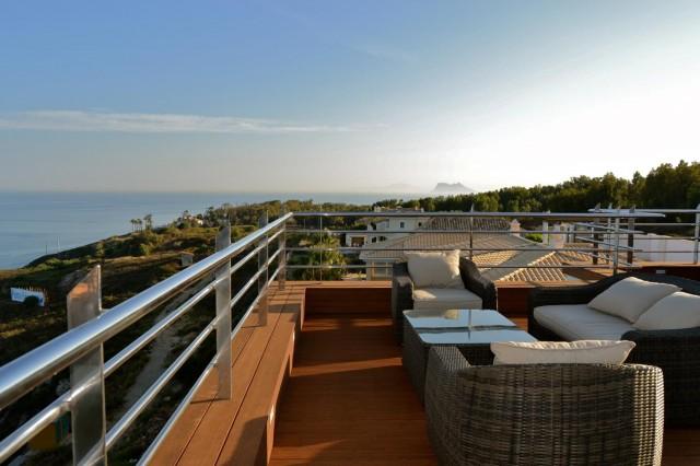 Solarium views  Luxury Villa Punta Paloma