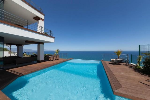Pool Spectacular Sea view Villa