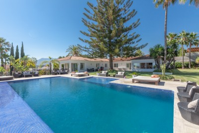 Amazing 10 en suite bedroom villa for sale in Elviria, Marbella