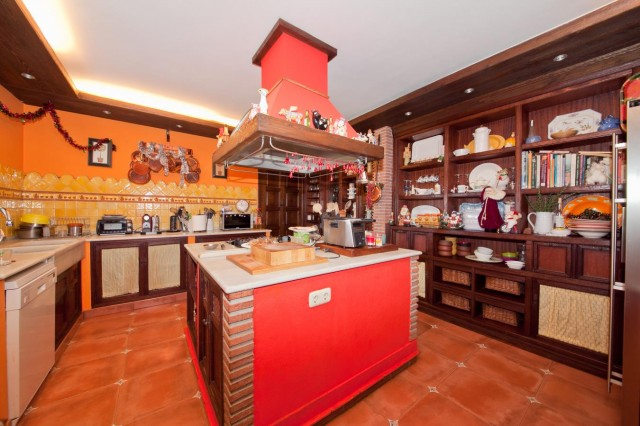 Kitchen detail Mansion Close to the sea Finca Style with exstensive grounds and stables Costa del Sol