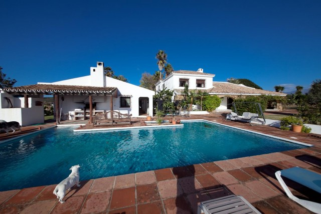 Mansion Close to the sea Finca Style with exstensive grounds and stables Costa del Sol