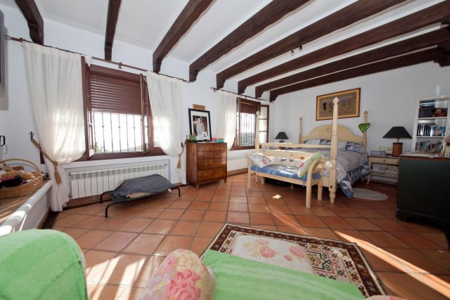 Master bedroom Mansion Close to the sea Finca Style with exstensive grounds and stables Costa del Sol