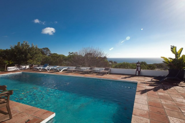 Pool and views Mansion Close to the sea Finca Style with exstensive grounds and stables Costa del Sol
