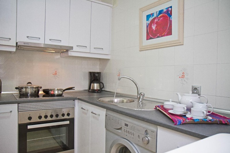 1 bedroom Kitchen - Matchroom