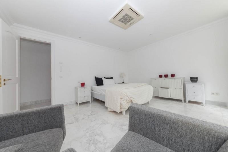 Bedroom 2 guest apartment 2 Luxury Villa Sierra Blanca Marbella-18