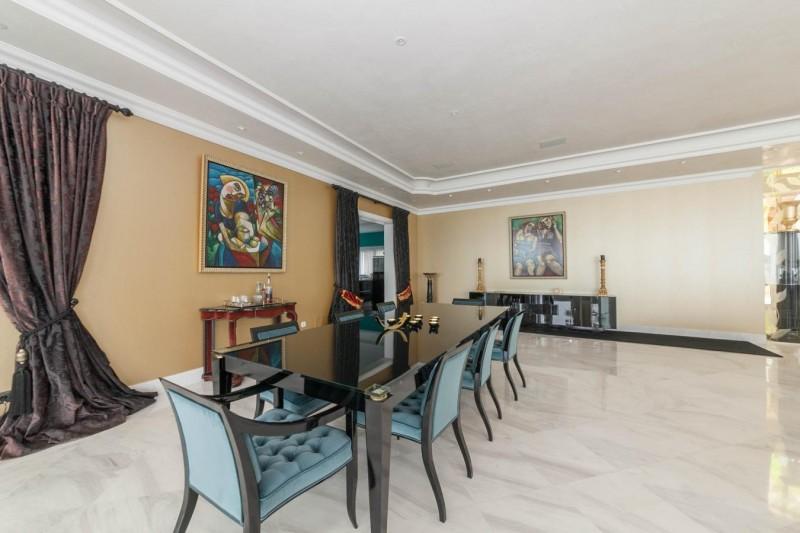 Dining Luxury Villa Sierra Blanca Marbella-4