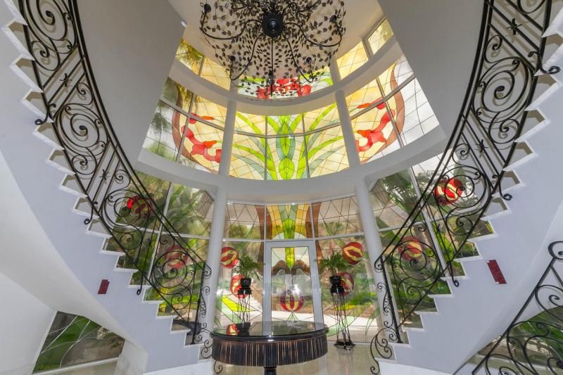 Entrance Hallway Luxury Villa Sierra Blanca Marbella-5