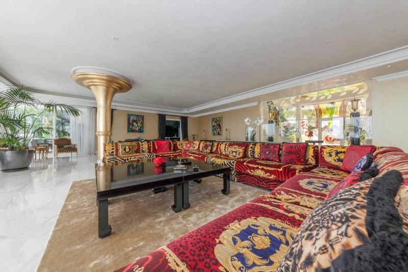 Lounge Luxury Villa Sierra Blanca Marbella-2