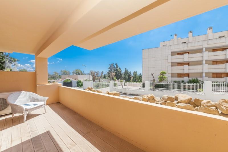 Terrace detail Golden Mile Apartment-2