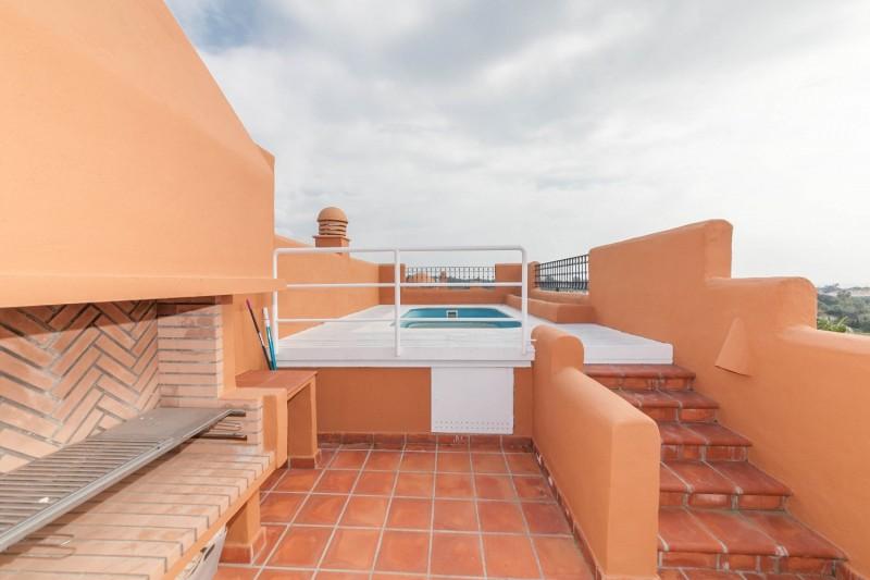 Private pool Puerto Banus Alzambra Hill Club Penthouse-15