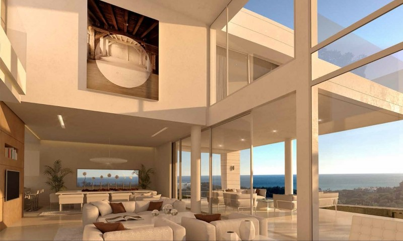 Open plan with views