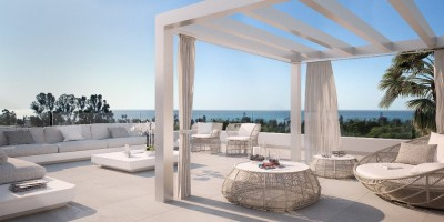 Estepona new development, 2 and 3 bedroom apartments on the New Golden Mile