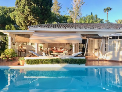 Colonial style single level villa at Hacienda Las Chapas, Marbella