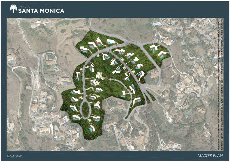 rancho santa monica plan