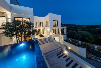 Luxury contemporary villa in Altos de Los Monteros, Marbella