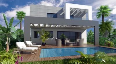 Brand new contemporary villas at Jardines del Aguila close to Fuengirola.