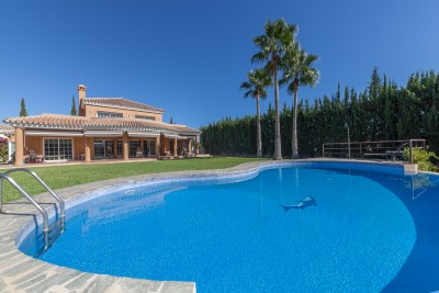 Luxury west facing villa on Mijas Golf