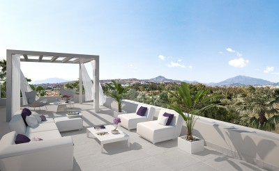 Estepona new developments - luxury 2 & 3 bedroom apartments at Atalaya on the New Golden Mile