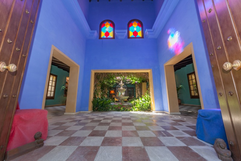 Entrance Guadalmina Villa-1