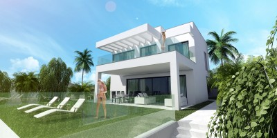 Brand new off plan luxury contemporary villa for sale at La Cala de Mijas