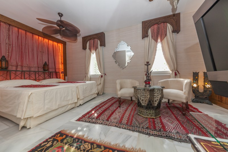 Bedroom 4 Casasola Villa-4